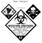 Biological Hazard Test Subject