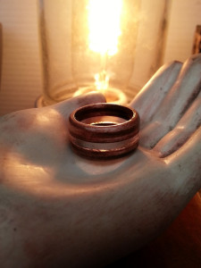 Layered Maple and Acrylic Ring